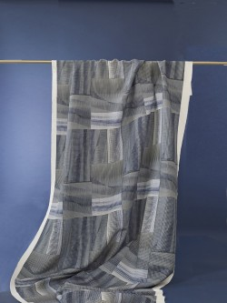 Wave Blue Fabric by Emma Jeffs at N&N Wares